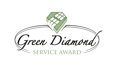 Green Diamond Service Award